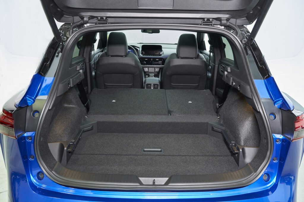 Boot space in the 2021 Nissan Qashqai