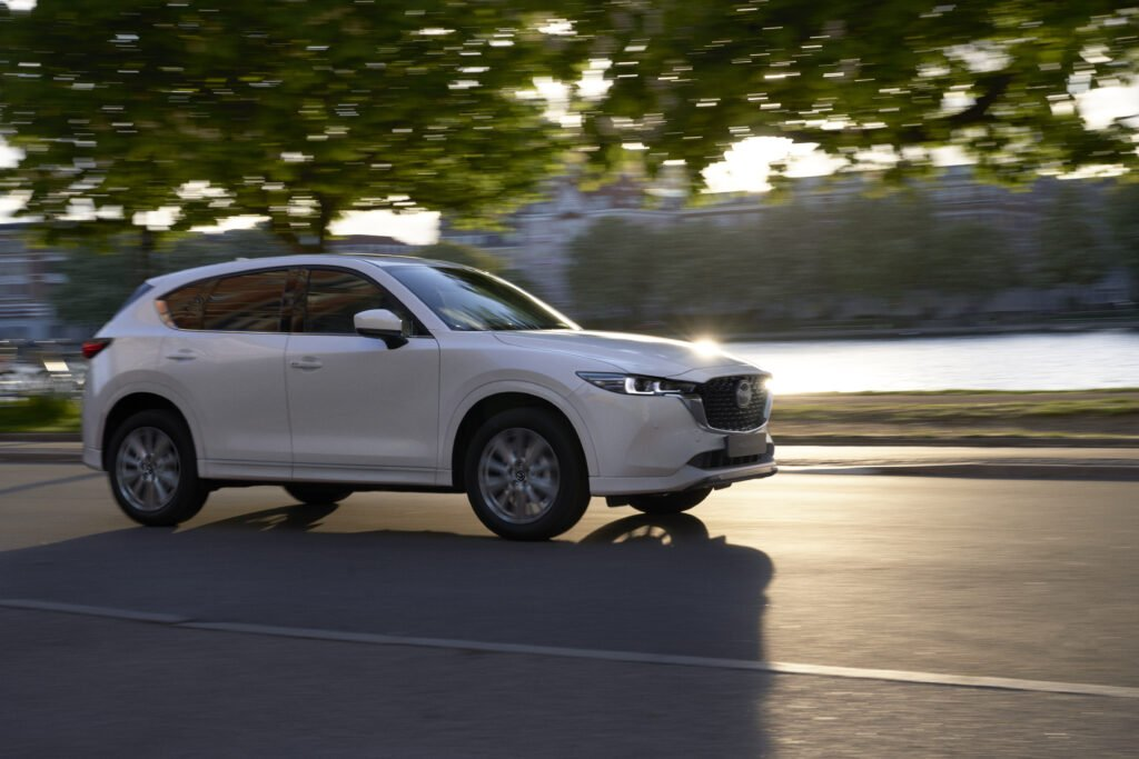 The Mazda CX-5 will soon be joined by two other new large family SUVs