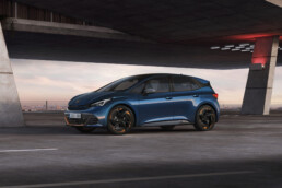 The new CUPRA Born on the way to Ireland in 2022