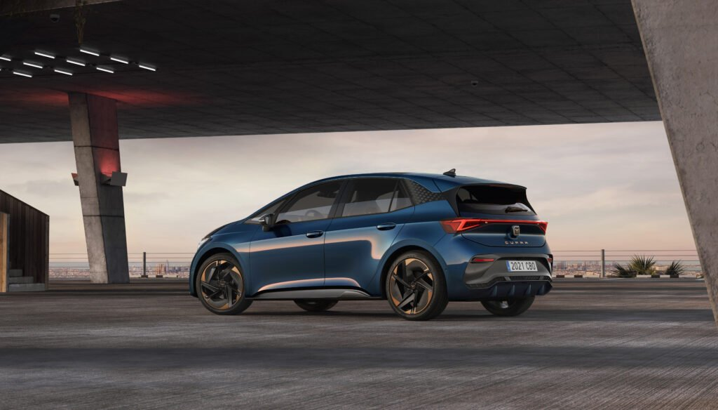Some versions of the new CUPRA Born have a range in excess of 500 km