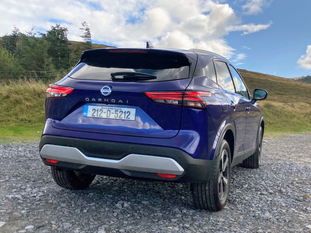 The Qashqai is a stylish and practical family car