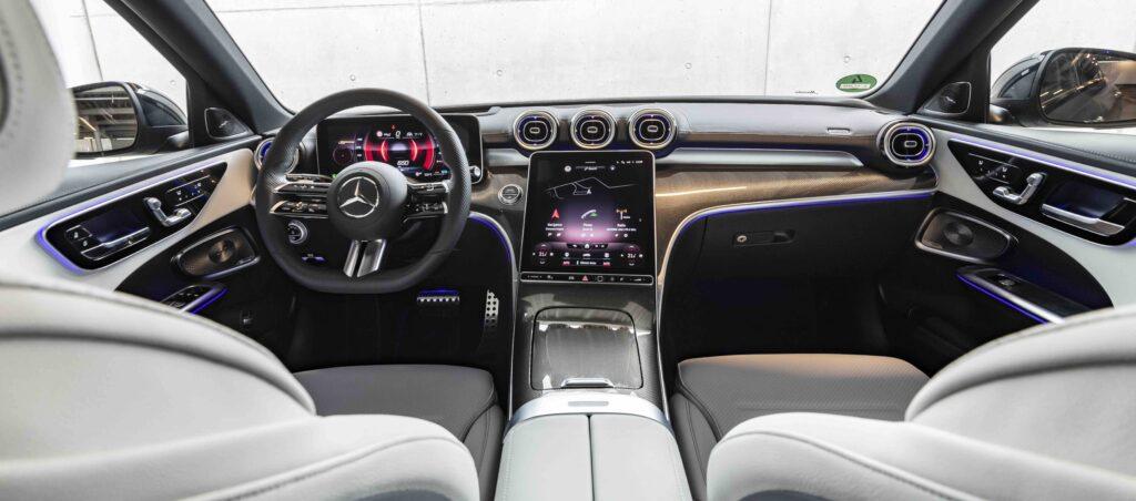 Inside the new Mercedes-Benz C-Class
