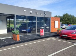 Tesla has opened a new location in Cork